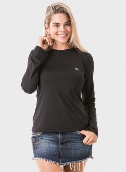 feminina t shirt longa ice preta frente 2 c