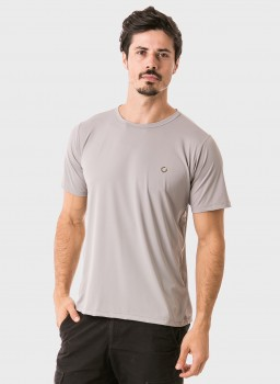 masculina t shirt curta ice frente cinza c