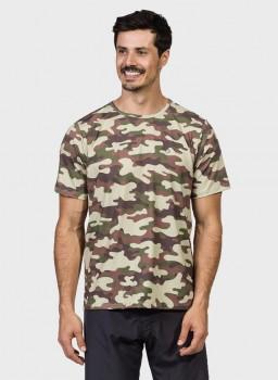 camisa camuflada masculina manga curta protecao solar extreme uv militar frente c