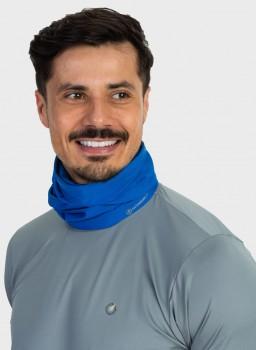 bandana tube neck mascara com protecao solar masculina extreme uv nd azul c