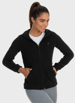 casaco sherpa felpudo feminino extreme uv lateral c